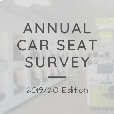 Annual Children's Car Seats Survey | 2019/20 Edition