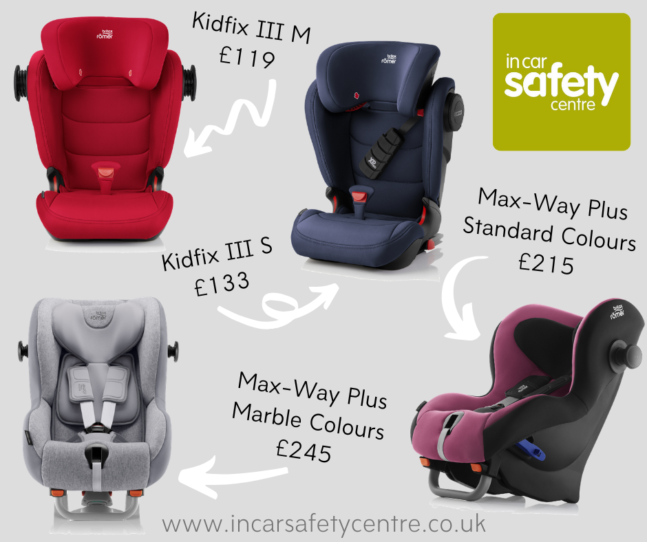 Britax Black Friday deals on Max-Way Plus and Kidfix range